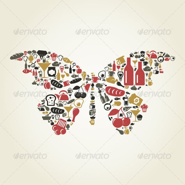 Food Butterfly