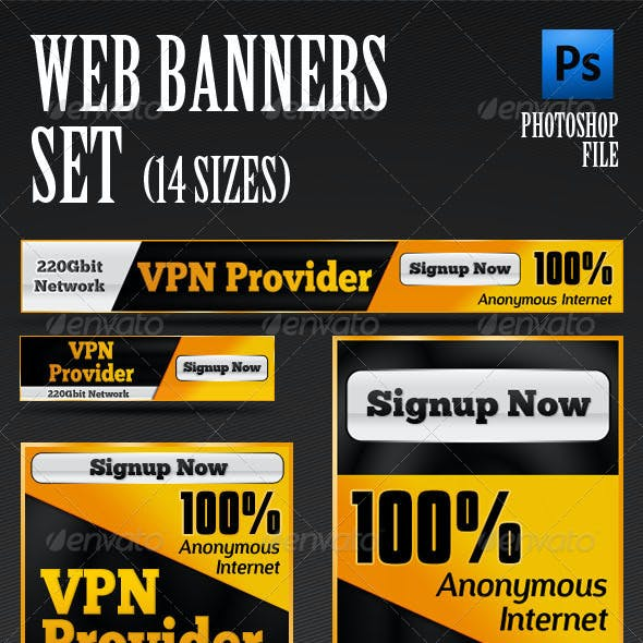 Web Banners Template Set
