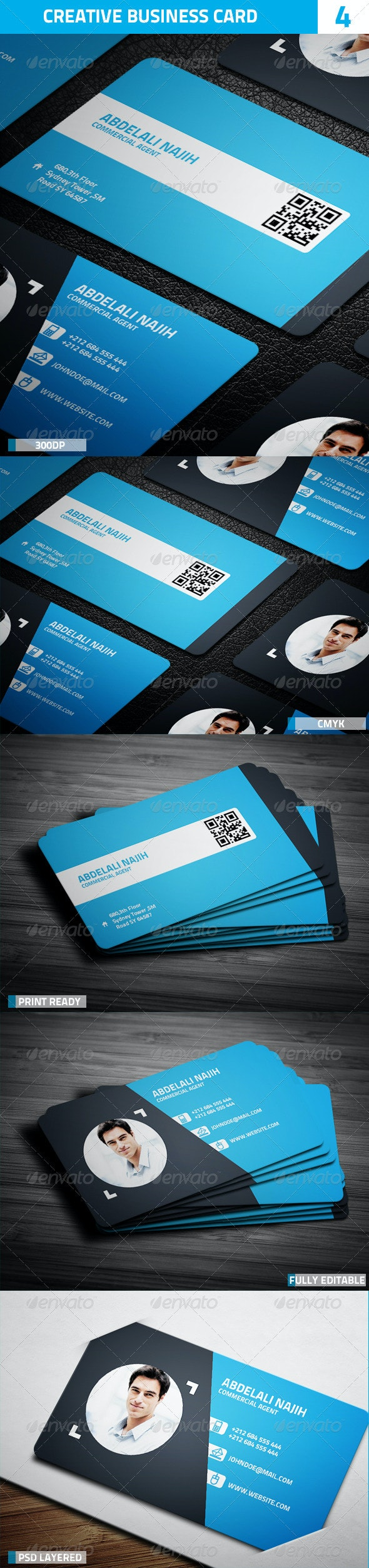 Creative Business Card 4 - Creative Business Cards