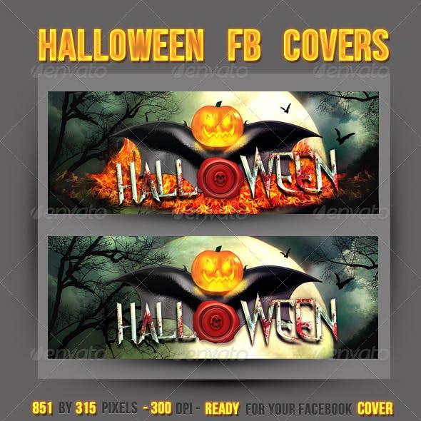 Halloween FB Timeline Covers