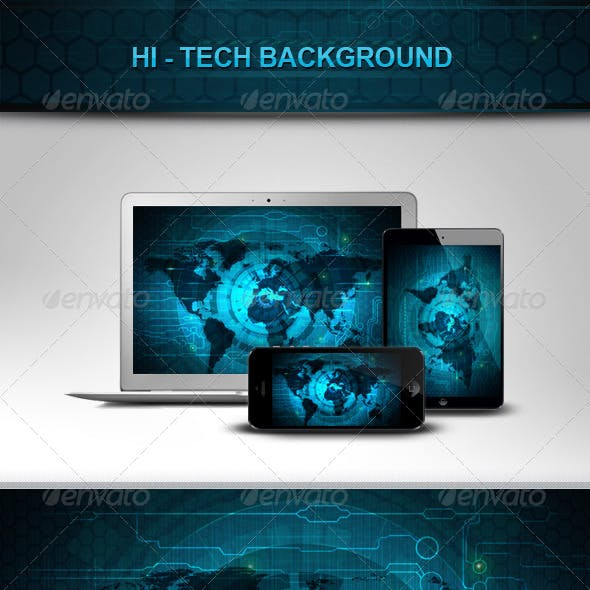 Hi-Tech Backgrounds V1