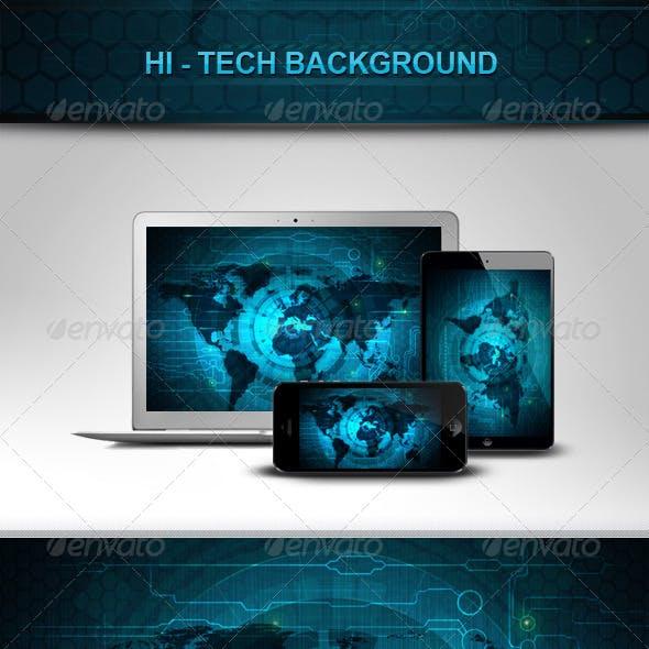 Hi-Tech Backgrounds V1