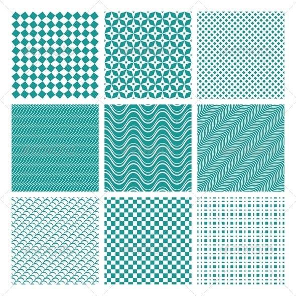 Monochrome Seamless Patterns