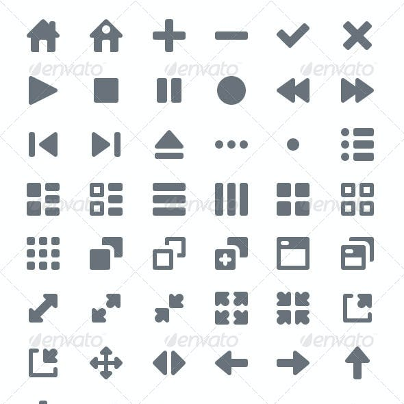 Pictype Vector Icons