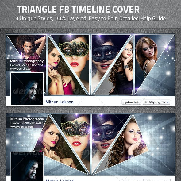 Triangle FB Timeline Cover