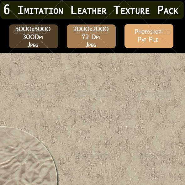 6 Imitation Leather Texture Pack