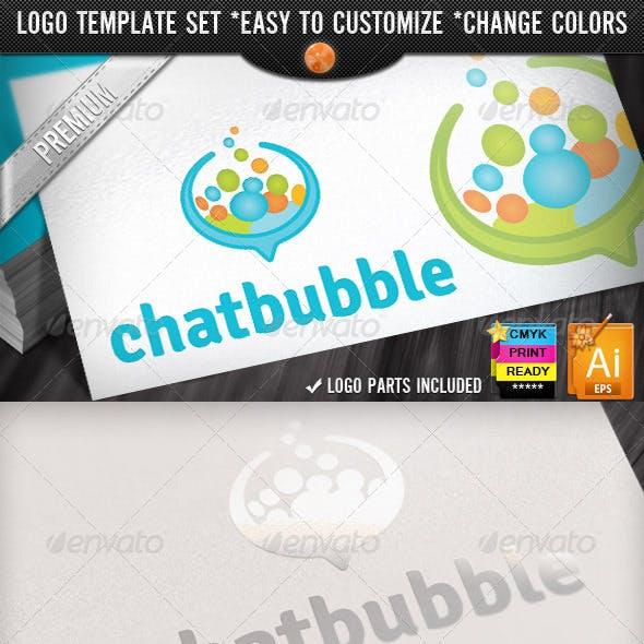 Social Media Applications Speech Bubbles Chat Logo