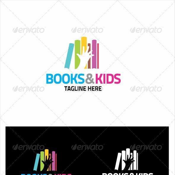BOOKS & KIDS LOGO
