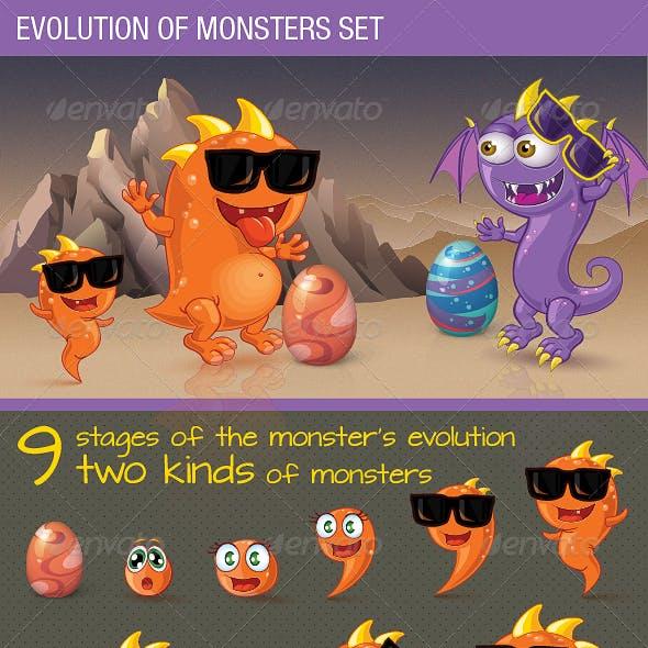 Evolution of Monsters Set