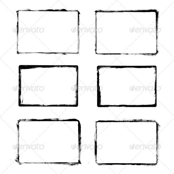 Grunge Frames - Backgrounds Decorative