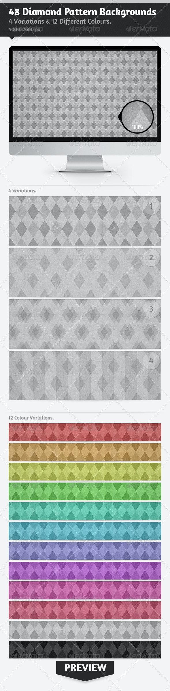 48 Diamond Pattern Backgrounds - Patterns Backgrounds