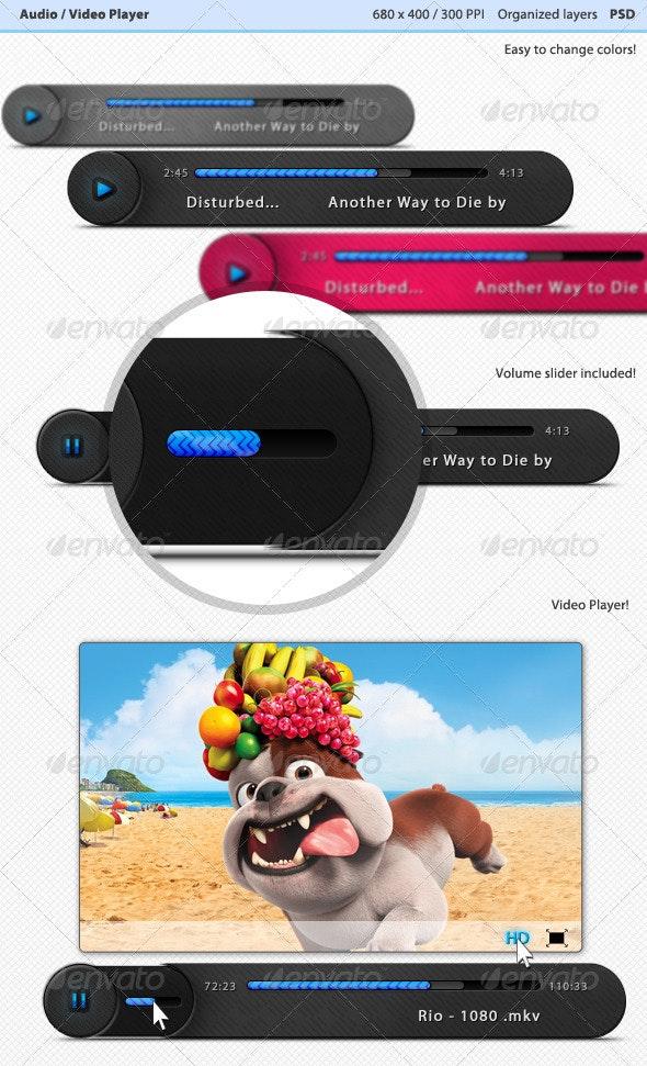 Audio - Video Player - Miscellaneous Web Elements
