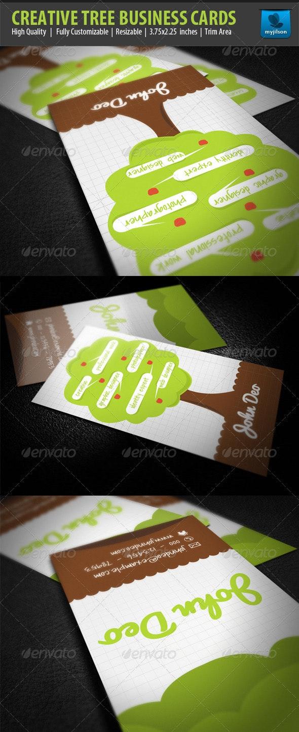 Creative Tree Business Card - Creative Business Cards