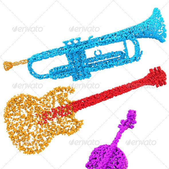 Bubbly Musical Instruments