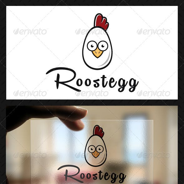 Chicken Farm Logo Template