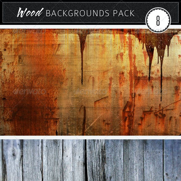 Wood Backgrounds Pack 8