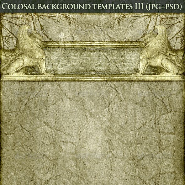 Colosal Background Templates Version 3