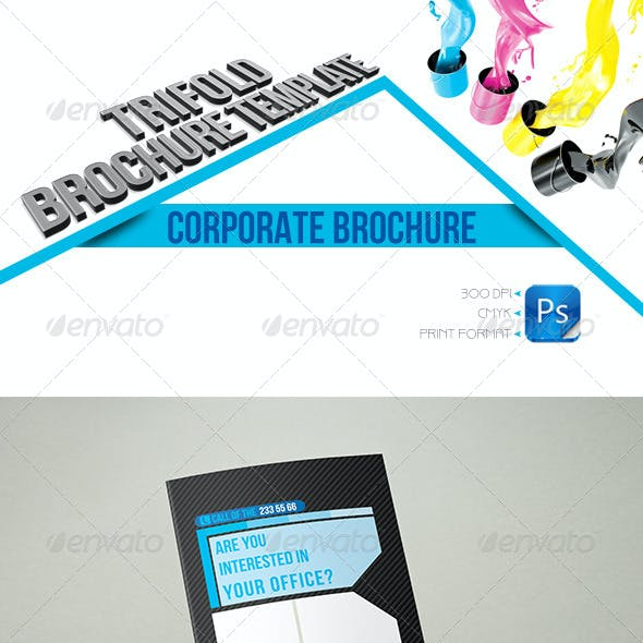 Corporate Business Trifold Template