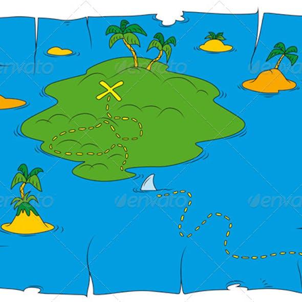 Treasure Island Cutout