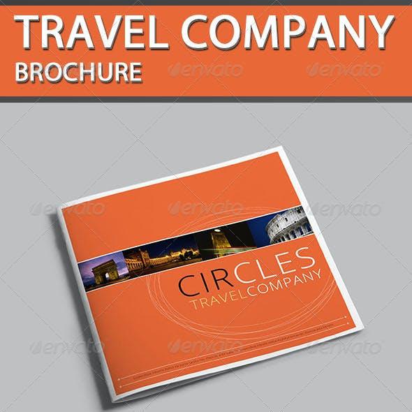 Travel Company Brochure - Circles