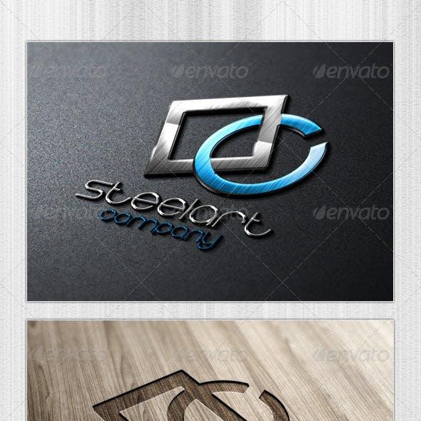 Steel Art Logo Template