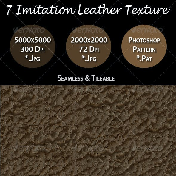 7 Imitation Leather Texture Pack