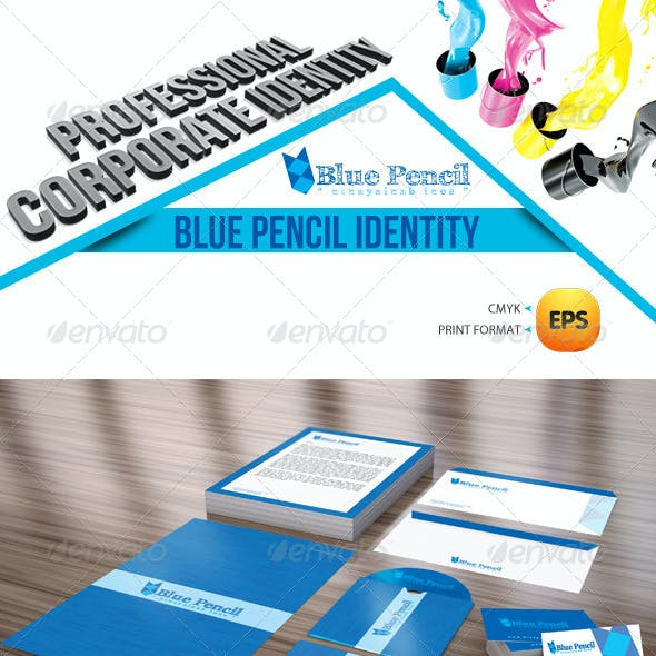 Blue Pencil Corporate Identity Package