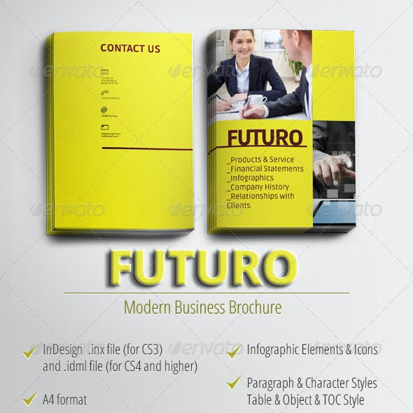 Futuro - Modern Business Brochure