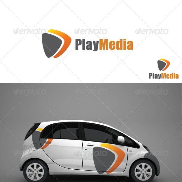 Play Media - Logo Template