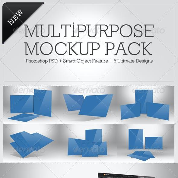 Multipurpose Mockup Pack 4