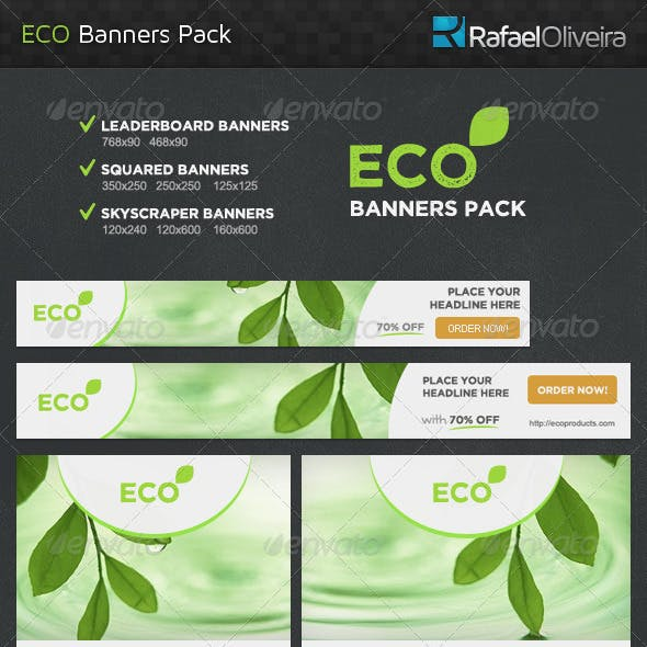 Eco Banners Pack