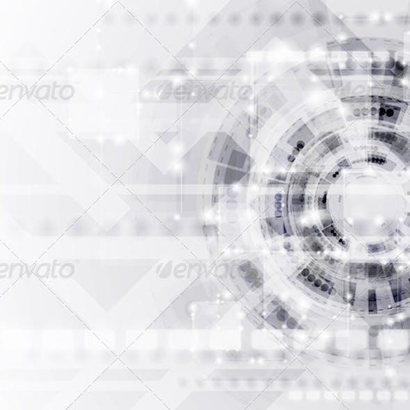 Abstract Modern Technology Vector Template