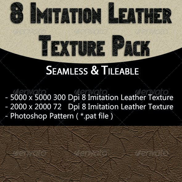 8 Imitation Leather Texture Pack