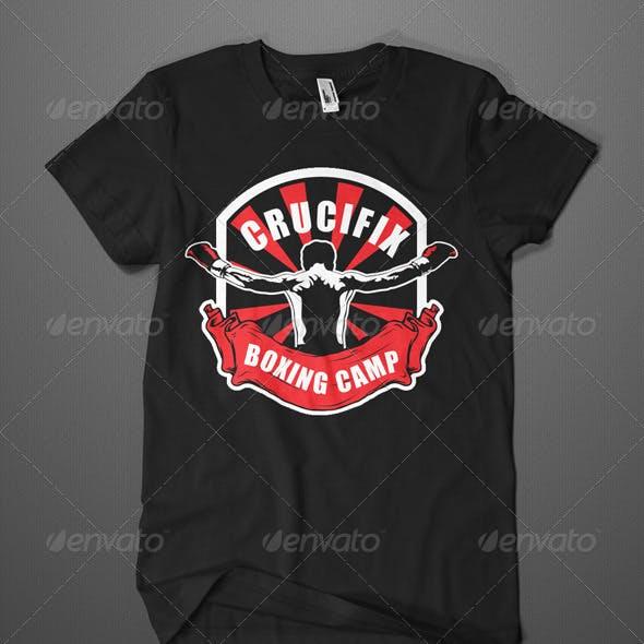 Boxingt Camp T-Shirt Template