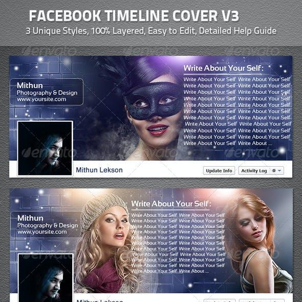 Facebook Timeline Cover V3