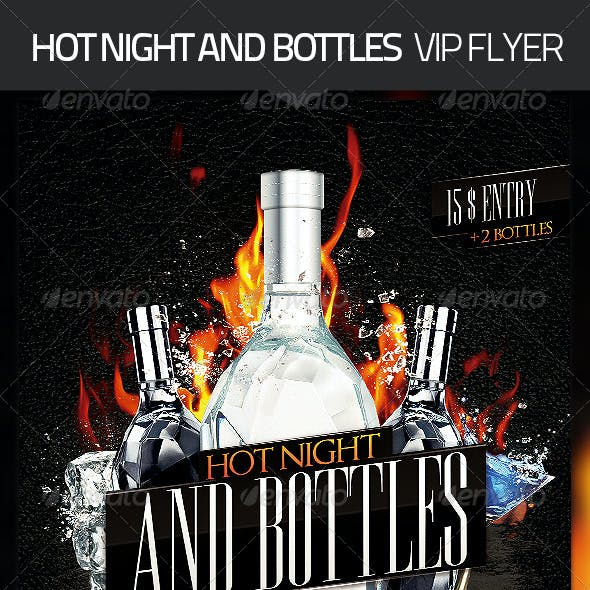 Hot Night Bottles Flyer