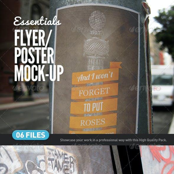 Flyer | Poster | Logo Mock-Ups