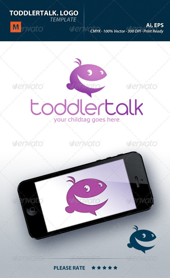 Toddlertalk Logo - Humans Logo Templates