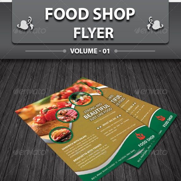 Restaurant Business Flyer | Volume 3