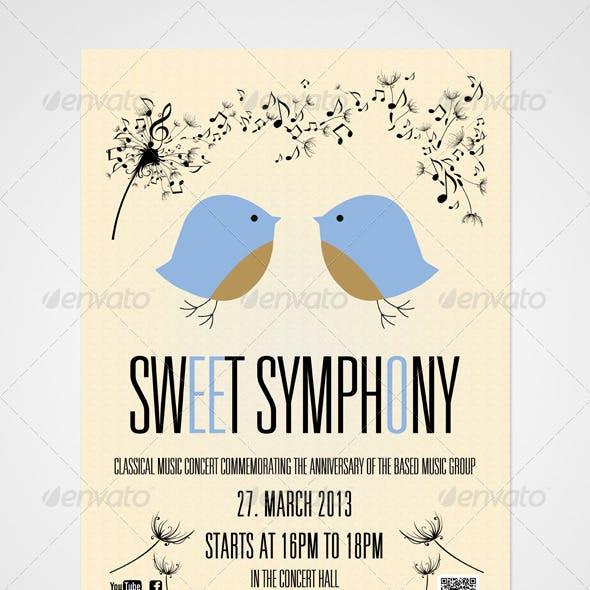 Symphony Poster And Tickets