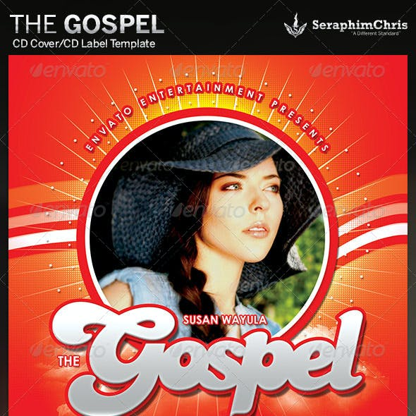 The Gospel: CD Cover Artwork Template