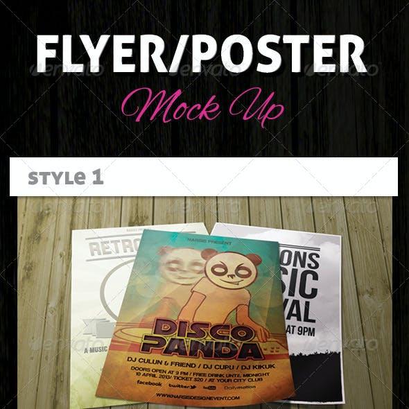 Flyer/Poster Mock-Ups