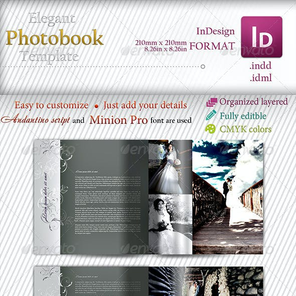 Elegant Photobook Template