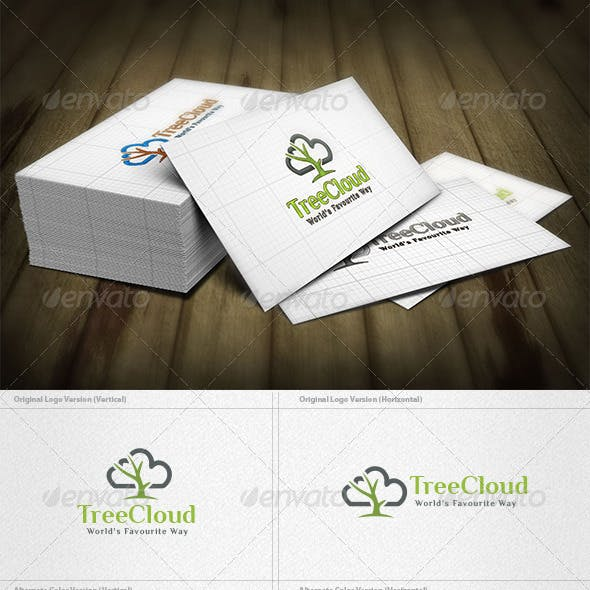 Tree Cloud Logo