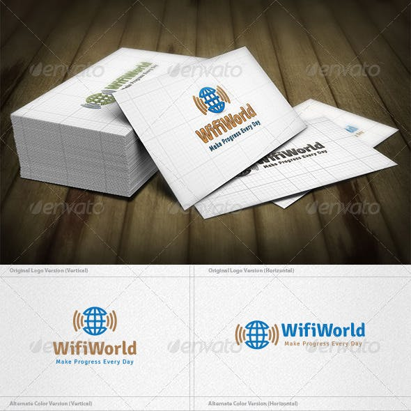 Wifi World Logo