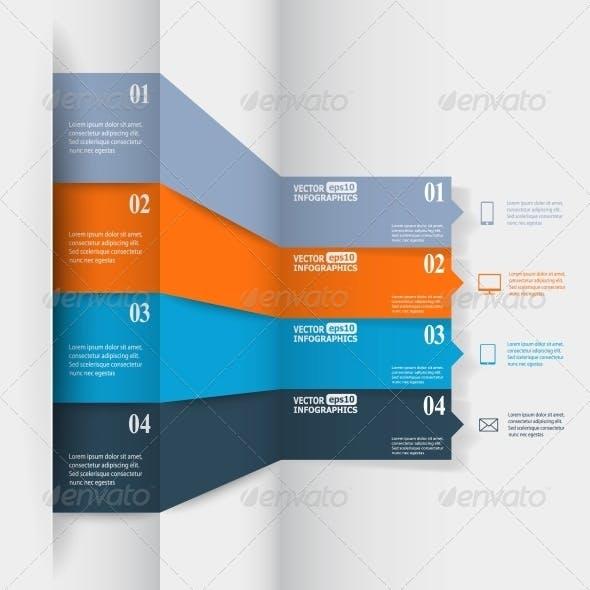 Abstract Paper Infografics