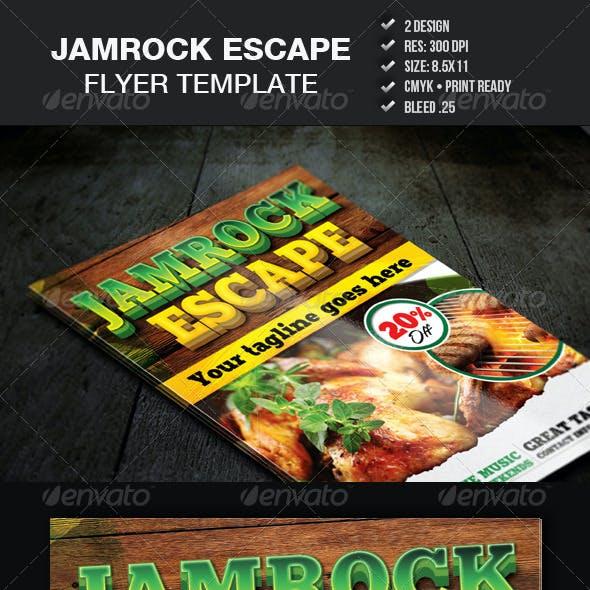 Jamrock Escape Flyer Template