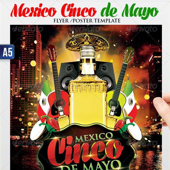 Cinco de Mayo Flyer Poster Template
