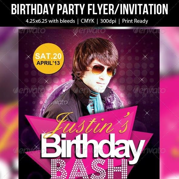 Birthday Party Flyer/Invitation