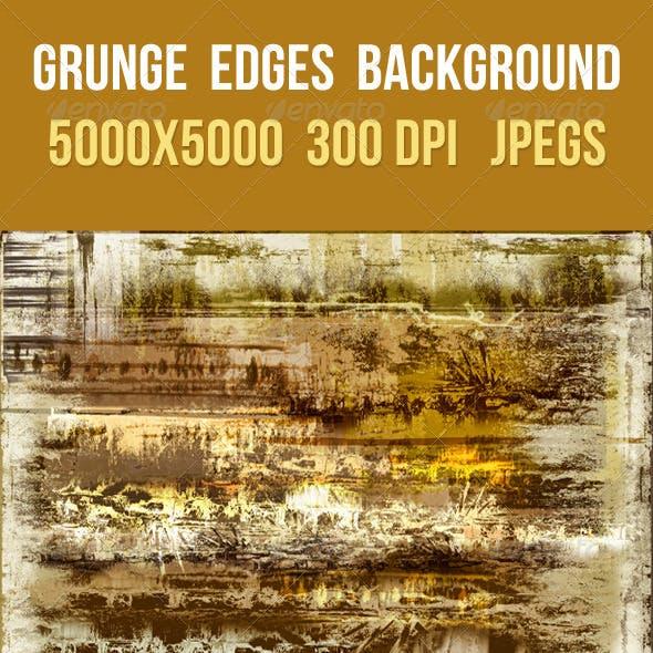 Grunge Edges Background